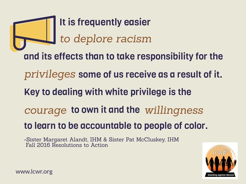 Week 7: Standing Against Racism