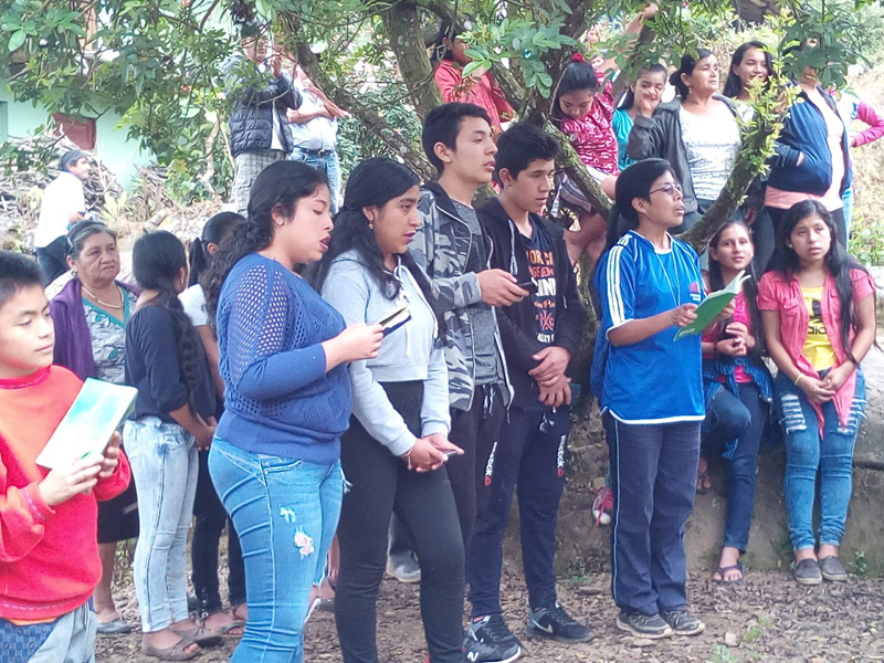Ministry to youth in the Andes