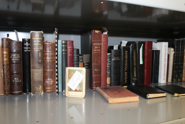 Archives' book collection eclectic