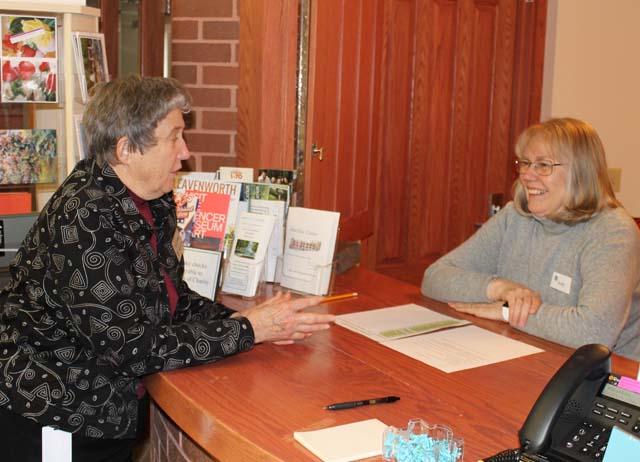 Volunteers enhance hospitality