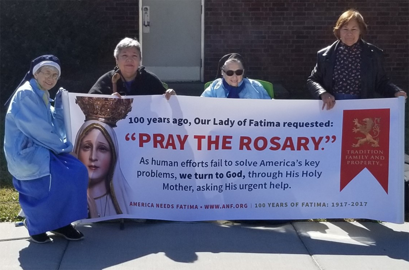 SCLs participate in Rosary Rally